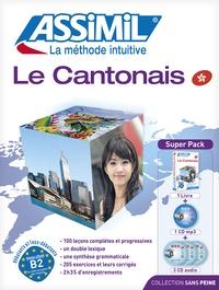 Galabria.be Le cantonais : super pack - Le cantonais : débutants et faux débutants, niveau atteint B2, du cadre européen des langue, avec 1 CD audio Image