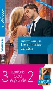 Christina Hollis et Nicola Marsh - 3 romans Azur pour le prix de 2 - Les tumultes du désir - Une proposition irrésistible - Trompeuse réputation.