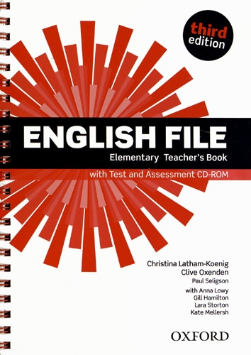 Christina Latham-Koenig et Clive Oxenden - English File Elementary - Elementary teacher's book. 1 CD audio