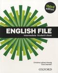 Christina Latham-Koenig et Clive Oxenden - English File Intermediate Student's Book.