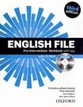 Christina Latham-Koenig et Clive Oxenden - English File Pre-intermediaire Workbook with key. 1 Cédérom