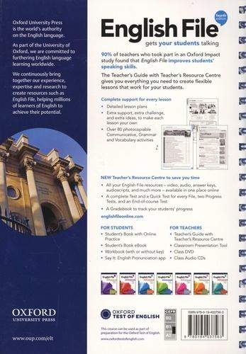 English File Pre-intermediate. Teacher's Guide with Teacher's Resource Centre 4th edition