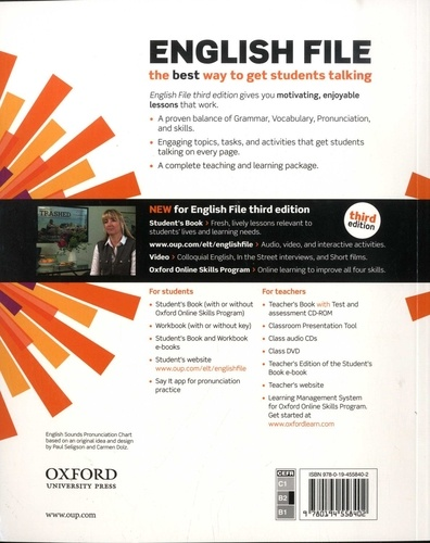 English File Upper-intermediate. Student's Book 3rd edition