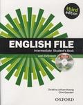 Christina Latham-Koenig et Clive Oxenden - English File - Intermediate Student's Book. 1 DVD