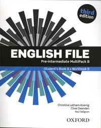 Christina Latham-Koenig et Clive Oxenden - English File - Pre-intermediate Student's Book B.