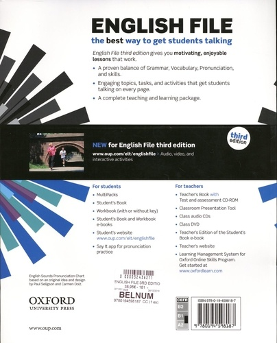 English File. Pre-intermediate Student's Book B 3rd edition