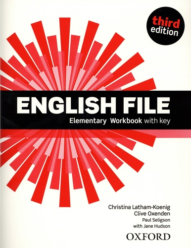 English File. Elementary Workbbok with Key 3rd edition