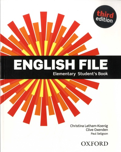 English File. Elementary Student's Book 3rd edition