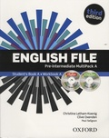 Christina Latham-Koenig et Clive Oxenden - English File - Pre-intermediate Student's Book A. 1 Cédérom + 1 DVD