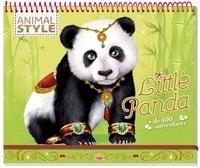 Christine Alcouffe - Animal Style Little Panda - + de 450 autocollants.