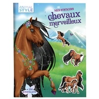 Christine Alcouffe - Mes stickers chevaux merveilleux.