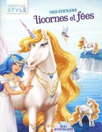 Deedr.fr Mes stickers licornes et fées - 300 autocollants Image