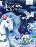 Christine Alcouffe - Mes stickers licornes fantastiques - 300 autocollants.