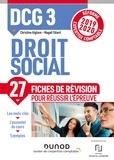 Christine Alglave et Magali Têtard - DCG 3 Droit social - Fiches de révision - Réforme Expertise comptable 2019-2020.