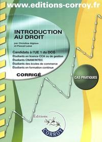 Histoiresdenlire.be Introduction au droit UE 1 du DCG - Corrigé Image