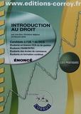 Christine Alglave et Pascal Lainé - Introduction au droit UE 1 du DCG - Enoncé.