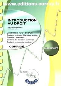 Introduction au droit UE1 du DCG - Corrigé.pdf
