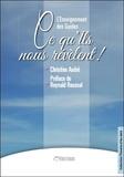 Christine André - L'enseignement des guides - Ce qu'ils nous révèlent !.