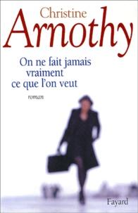 Christine Arnothy - .