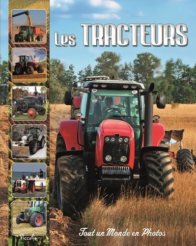 Christine Baillet - Les tracteurs.