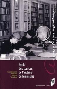 Deedr.fr Guide des sources de l'histoire du féminisme - De la Révolution française à nos jours Image