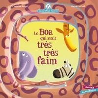 Christine Beigel et Hervé Le Goff - Mamie poule raconte Tome 15 : Le Boa qui avait très très faim.
