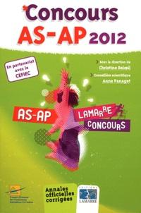 Christine Beloeil et Anne Panaget - Concours AS/AP.