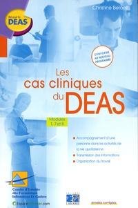 Christine Beloeil - Les cas cliniques du DEAS - Modules 1, 7 et 8.