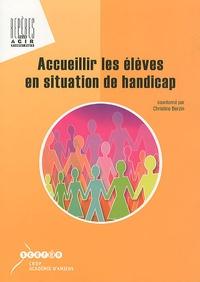 Christine Berzin - Accueilir les élèves en situation de handicap.