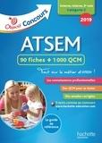 Christine Blanchard et Claudine Cheyrouze - ATSEM 90 fiches + 1000 QCM - Externe, interne, 3e voie Catégorie C.