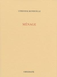 Christine Bonduelle - Ménage.