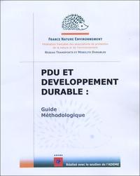Christine Bonfiglio - PDU et développement durable - Guide méthodologique.