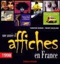 Christine Bonnin et Freddy Ghozland - Une année d'affiches en France - 1998.