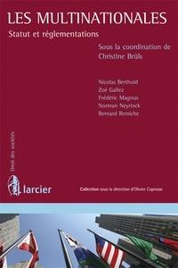 Christine Brüls - Les multinationales - Statut et réglementations.