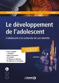 Téléchargements ebooks gratuits pour ipad Le développement de l'adolescent  - L'adolescent à la recherche de son identité par Christine Cannard (French Edition) 9782807320383 CHM MOBI FB2