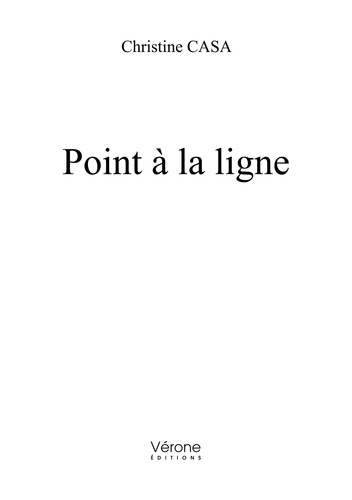 Christine Casa - Point à la ligne.