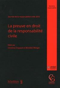 Corridashivernales.be La preuve en droit de la responsabilité civile - Journée de la responsabilité civile 2010 Image