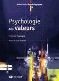Christine Chataigné - Psychologie des valeurs.