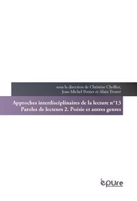 Christine Chollier - Paroles de lecteurs - Tome 2, Poésie et autres genres.