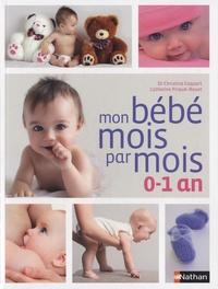 Histoiresdenlire.be Mon bébé mois par mois, 0-1 an Image