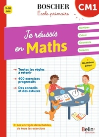 Christine Cuttoli et Véronique Schwab - Je réussis en maths CM1.