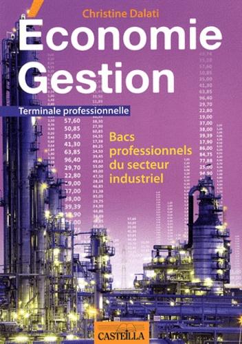 Christine Dalati - Economie Gestion Tle Bac pro industriel.