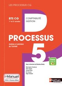 Christine Darlay et Marie-Agnès Choukroun - Processus 5 Analyse et prévision de l'activité BTS CG 1re et 2e années - i-Manuel.