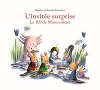 Christine Davenier et  Kimiko - L'invitée surprise - La BD de Minusculette.
