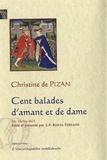 Christine de Pizan - Cent balades d'amant et de dame - Manuscrit Harley 4431.