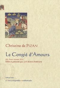 Christine de Pizan - Le Congié d'Amours - Manuscrit Arsenal 3523.