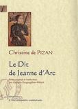 Christine de Pizan - Le Dit de Jeanne d'Arc - Ditié Jehanne Darc, Manuscrit de Berne.