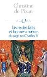 Christine de Pizan et Joël Blanchard - PDT VIRTUELPOC  : Livre des faits et bonnes moeurs du sage roi Charles V.
