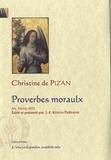 Christine de Pizan - Proverbes moraulx.