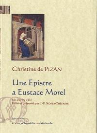 Christine de Pizan - Une Epistre a Eustace Morel - Manuscrit Harley 4431.